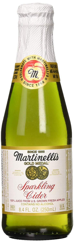 Martinelli Sparkling Cider Apple 12 8 4 Oz Sunbelt Natural